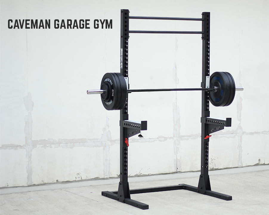 Caveman garage gym east west fitness